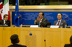 Prem Rawat speaks at Brussels European Parliamnet-sponsored peace conference