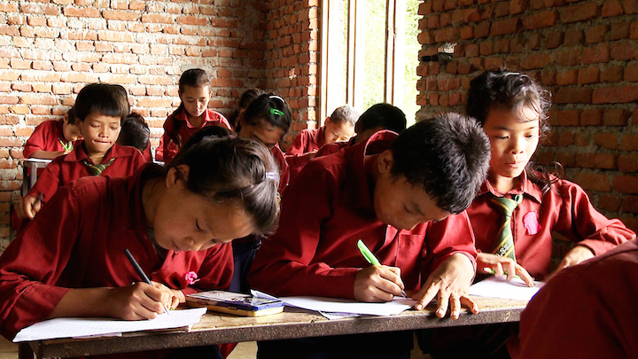 Food Program in Nepal Feeds Student Exam Success
