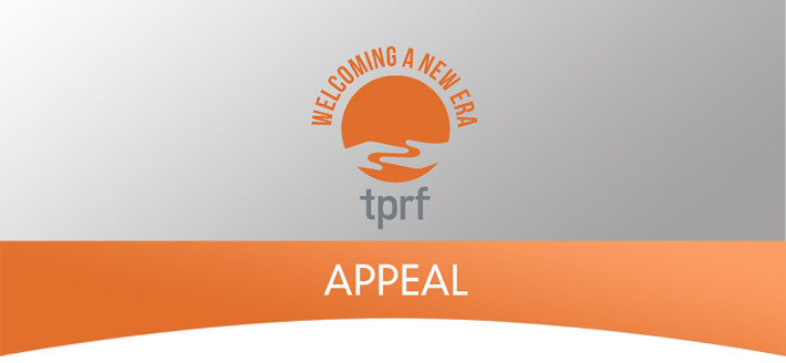 Welcoming a New Era - TPRF 2016 Appeal